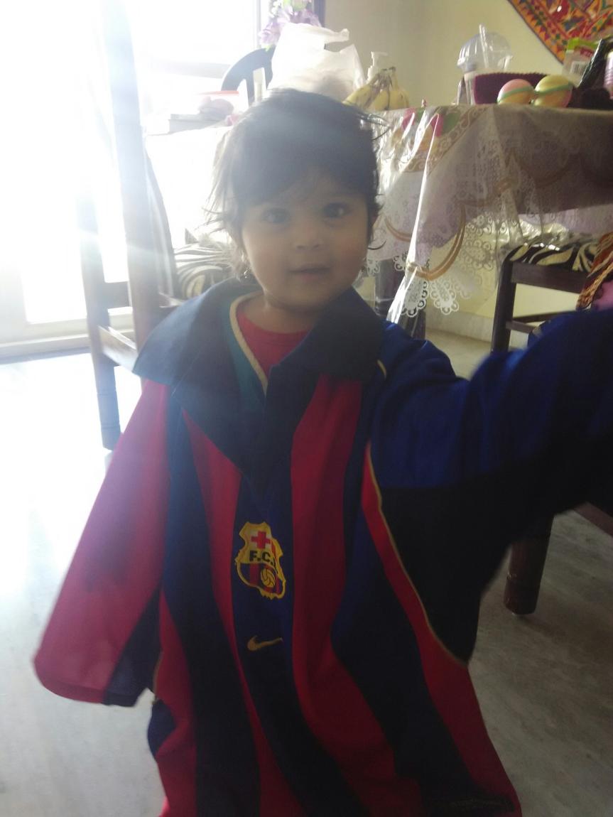 Asha likes Barca
